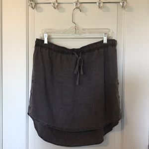 Anthropologie Cloth & Stone Button side Skirt